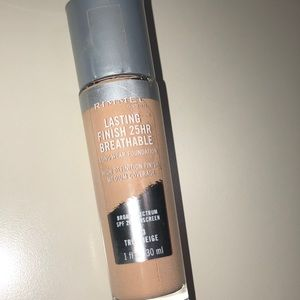 Rimmel - lasting 24 hr breathable. 203 true beige